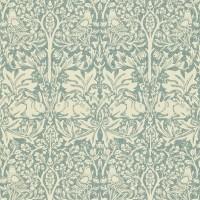 Tapet William Morris - Brer Rabbit Slate/ Vellum