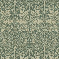 Tapet William Morris - Brer Rabbit Forest/ Manilla