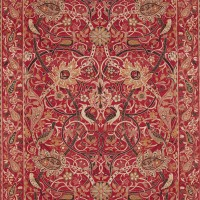 Tyg William Morris - Bullerswood Paprika Gold