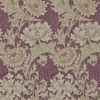 Tapet William Morris - Chrysanthmum Wien