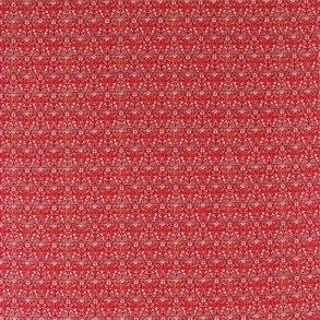 Tyg William Morris - Eye Bright Red