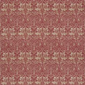 Tyg William Morris - Brer Rabbit Red Hemp