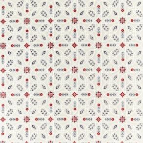 Tyg William Morris - Brophy Embroidery Indigo