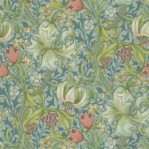 Tapet William Morris - Golden Lily Mineral - Tapet William Morris Golden Lily 210430