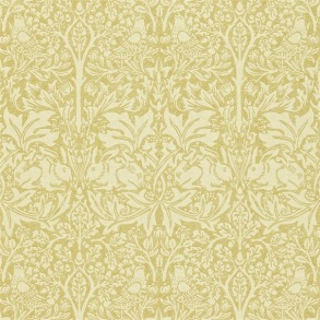 Tapet William Morris - Brer Rabbit Manilla/ Ivory - Tapet William Morris Brer Rabbit DMORBR104