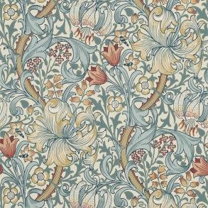 Tapet William Morris - Golden Lily Slate Manilla - Tapet William Morris Golden Lily 216461