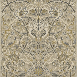Tapet William Morris - Bullerswood Stone Mustard - Tapet William Morris Bullerswood 216447