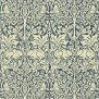 Tapet William Morris - Brer Rabbit Indigo/ Vellum - Tapet William Morris Brer Rabbit DMORBR105