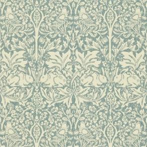 Tapet William Morris - Brer Rabbit Slate/ Vellum - Tapet William Morris Brer Rabbit DMORBR103