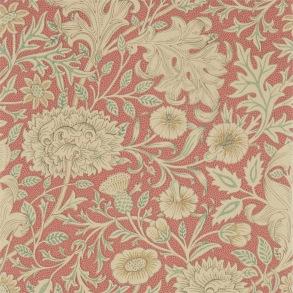 Tapet William Morris - Double Bough Carmine Red - Tapet William Morris Double Bough 216683