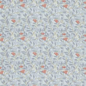 Tyg William Morris - Arbutus Bule Multi
