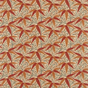 Tyg William Morris - Bamboo Russet Siena