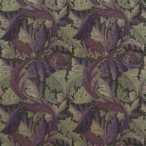 Tyg William Morris- Acantus Tapestry Grape Heather