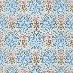 Tyg William Morris - Arichoke Embroidery Peacock Cream
