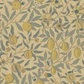 Tapet William Morris - Fruit Blue/ Gold - Tapet William Morris Fruit WR8048-3