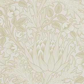 Tapet William Morris - Artichoke Vellum - Tapet William Morris Artichoke 210353