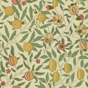 Tapet William Morris - Fruit Beige/ Gold - Tapet William Morris Fruit WR8048-1