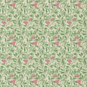 Tapet William Morris - Arbutus Olive/ Pink - Tapet William Morris Arbutus 214720
