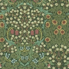 Tapet William Morris - Blackthorn Green - Tapet William Morris Blackthorn 216456