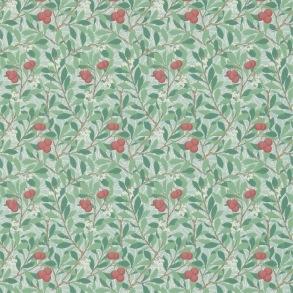 Tapet William Morris - Arbutus Thyme/ Coral - Tapet William Morris Arbutus 214719