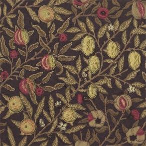 Tapet William Morris - Fruit Wine/ Manilla - Tapet William Morris Fruit 210397