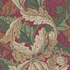 Tapet William Morris - Acanthus Madder/ Thyme - Tapet William Morris Acanthus 216439