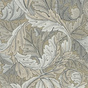 Tapet William Morris - Acanthus Manilla/ Stone - Tapet William Morris Garden Craft 216441