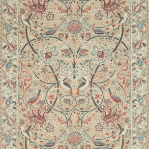 Tyg William Morris - Bullerswood Spice Manilla