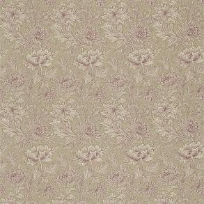 Tyg William Morris - Chrysantemum Toile Wine Linen