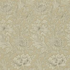 Tapet William Morris - Chrysanthemum Toile Ivory/ Gold - Tapet William Morris Chrysanthmum Toile 210417
