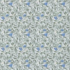 Tapet William Morris - Arbutus Silver/ Cobalt - Tapet William Morris Arbutus 214721