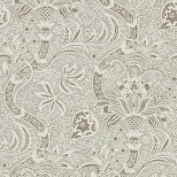Tapet William Morris - Indian Grey/ Pewter