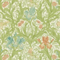 Tapet William Morris - Iris Fennel/ Slate