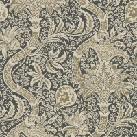 Tapet William Morris - Indian Charcoal/ Nickel