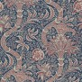 Tapet William Morris - Indian Indigo/Red - Tapet William Morris Indian DMOWIN103