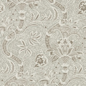 Tapet William Morris - Indian Grey/ Pewter - Tapet William Morris Indian 216444