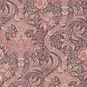 Tapet William Morris - Indian Wine/Heather - Tapet William Morris Indian DMOWIN102