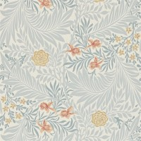 Tapet William Morris - Larkspur Slate/ Russet