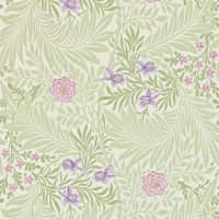Tapet William Morris - Larkspur Olive/ Lilac