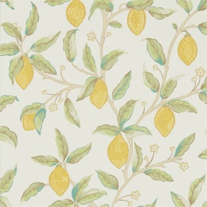 Tapet William Morris - Lemon Tree Bay Leaf - Tapet William Morris Lemon Tree 216672