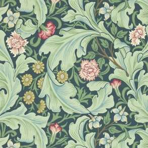 Tapet William Morris - Leicester Woad/ Sage - Tapet William Morris Leicester 212541