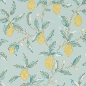 Tapet William Morris - Lemon Tree Wedgewood - Tapet William Morris Lemon Tree 216674