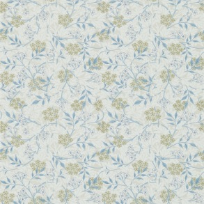 Tapet William Morris - Jasmine Ecru/ Woad - Tapet William Morris Jasmine 214724