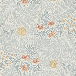 Tapet William Morris - Larkspur Slate/ Russet - Tapet William Morris Larkspur 212556