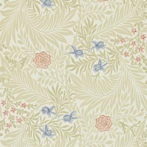 Tapet William Morris - Larkspur Manilla/ Rose - Tapet William Morris Larkspur 212557