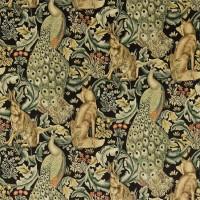 Tyg William Morris - Forest Velvet Charcoal