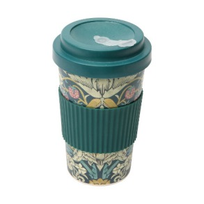 Take Away Mugg William Morris - Strawberry Thief - Take Away Mugg William Morris - Strawberry Thief