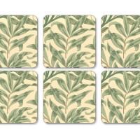 Coaster William Morris - Willow Bough Grön