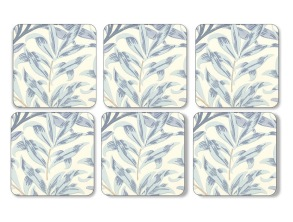 Coaster William Morris - Willow Bough Blå - Coaster William Morris - Willow Bough Blå