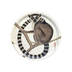Rund bricka 31 Sanderson - Lemur - Rund bricka 31 Sanderson - Lemur